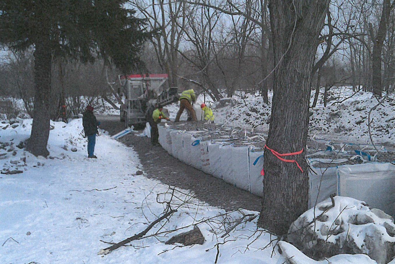 West Seneca Temporary Flood Wall Mclaughlin